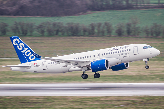 CS100 ERstlandung Wien Bombardier CSeries Start Thomas Ranner_01