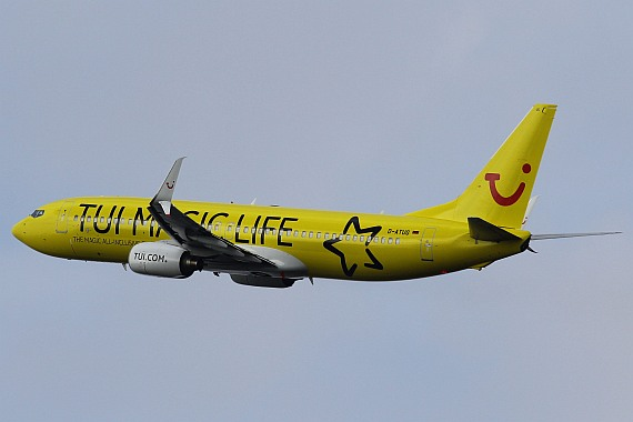 D-ATUG Boeing 737 Split Winglets TUIfly Magic Life Sonderlackierung Foto Kevin Schrenk_007