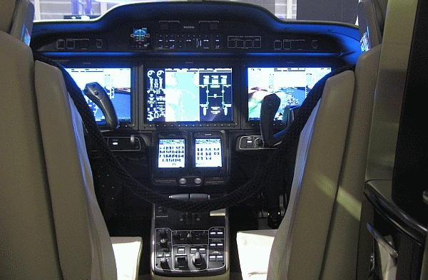 HondaJet Cockpit - Foto: Wikimedia Commons CC BY 3.0