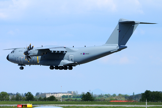 Royal Air Force Airbus A400M A400 Military - Foto Austrian Wings Media Crew