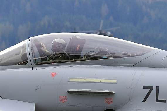 DSC_0490 Bundesheer Eurofighter-Pilot im Cockpit Airpower 2016 Foto Huber Austrian Wings Media Crew