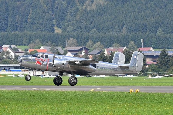 DSC_0976 B-25 Flying Bulls Airpower 2016 Foto Huber Austrian Wings Media Crew