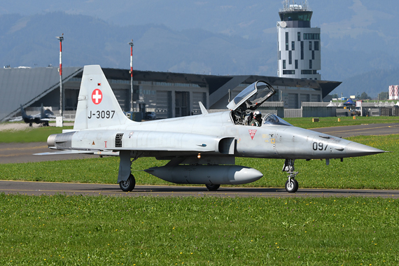 Schweizer Luftwaffe Northrop Tiger F-5 - Foto Austrian Wings Media Crew