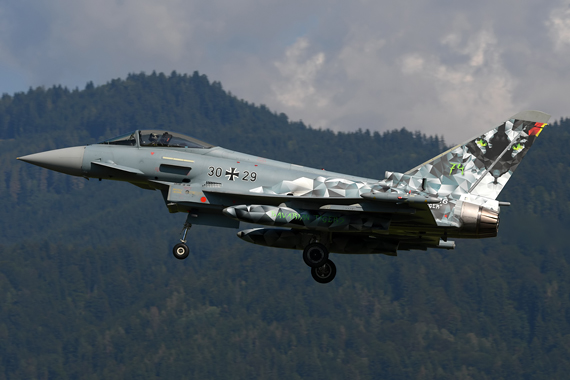 Luftwaffe Eurofighter Typhoon - Tigerlook - Foto Austrian Wings Media Crew