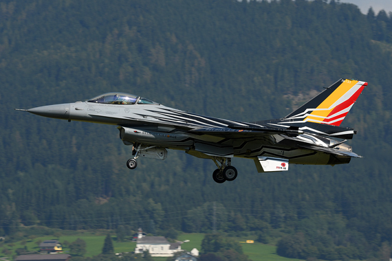 Belgian Air Force Lockheed Martin F16 Fighting Falcon - Foto Austrian Wings Media Crew