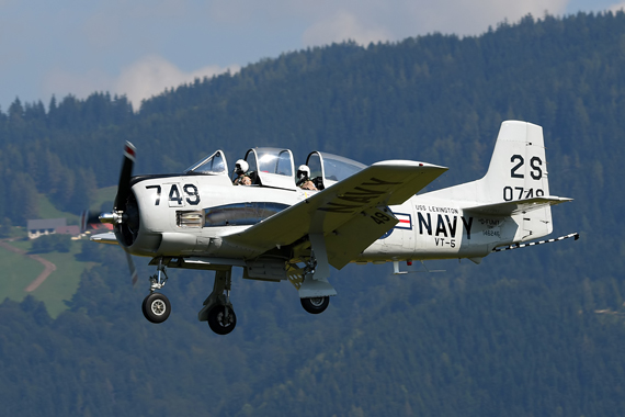 North American T-28 Trojan D-FUMY - Foto Austrian Wings Media Crew