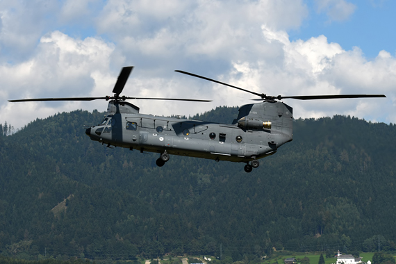 Niederländische Luftwaffe - Royal Netherlands Air Force Boeing CH-47F Chinook - Foto Austrian Wings Media Crew