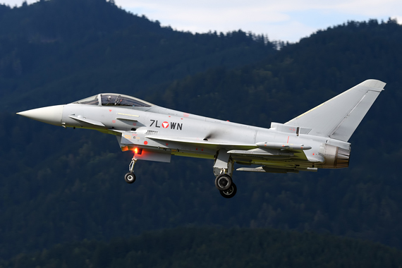 Eurofighter des Bundesheeres
