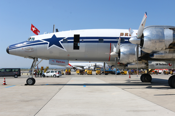 HB-RSC Breitling Super Constellation Foto Zeilinger Austrian Wings Media Crew