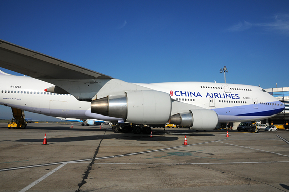 China Airlines boeing 747-400 Foto Austrian Wings Media Crew