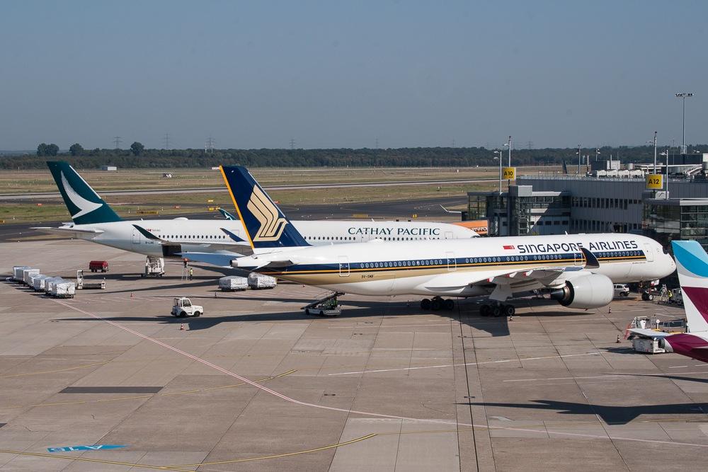Dusseldorf Airport Mit Sommerferien Zufrieden Austrian Wings