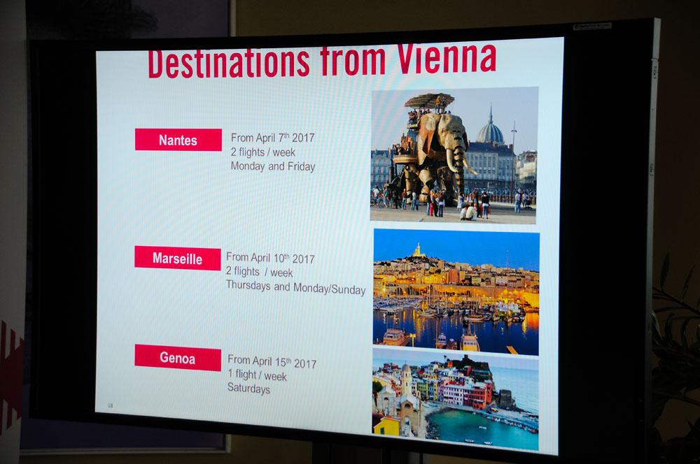 Neu ab Wien: Volotea bedient Nantes, Marseille und Genua