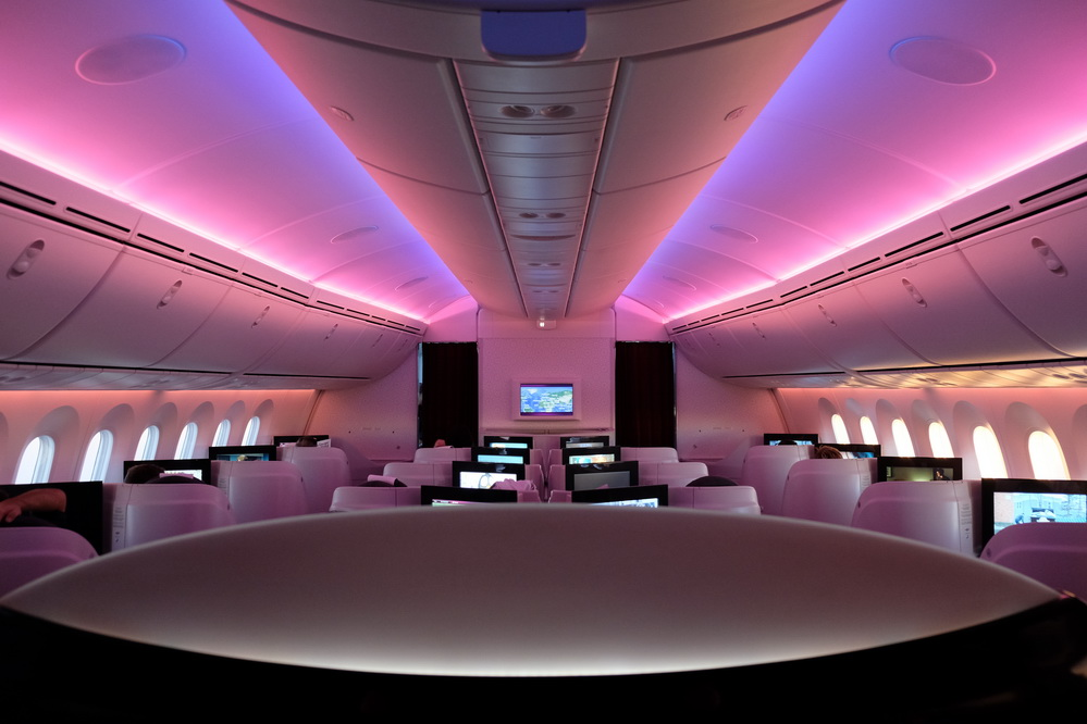 Qatar Airways Boeing 787-8 Business class