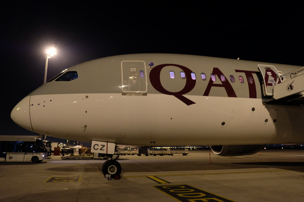 Boeing 787-8 in Doha