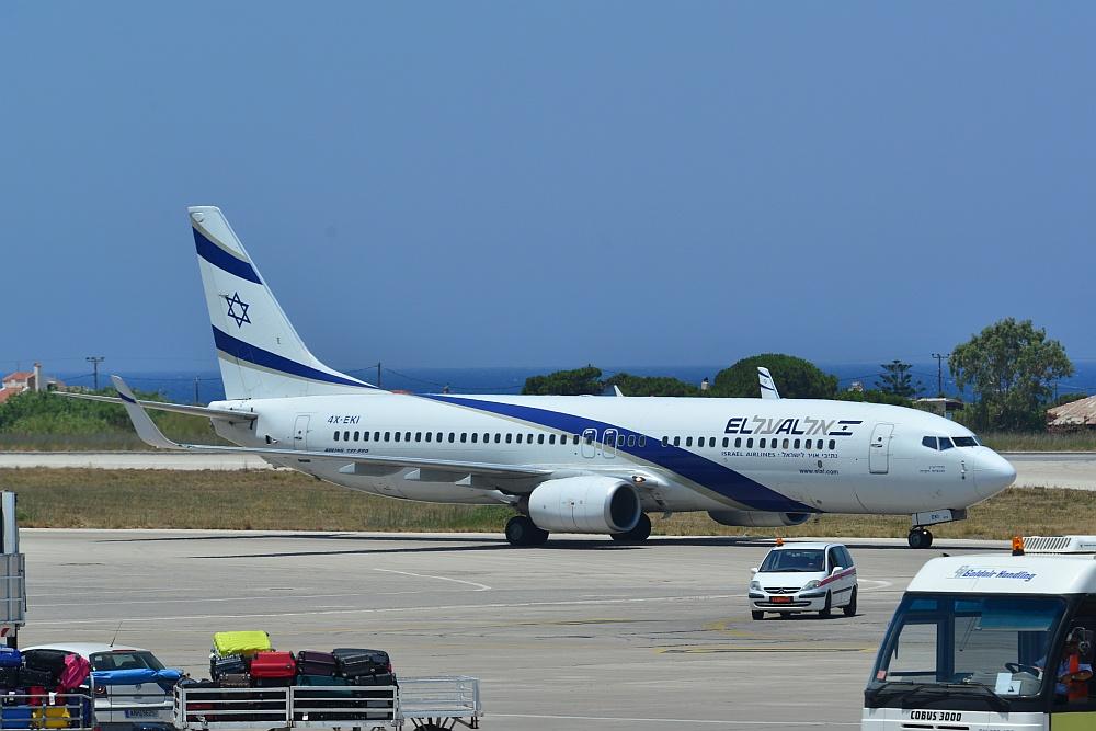 Technische Probleme Bei El Al Israel Airlines Flug Nach Amsterdam