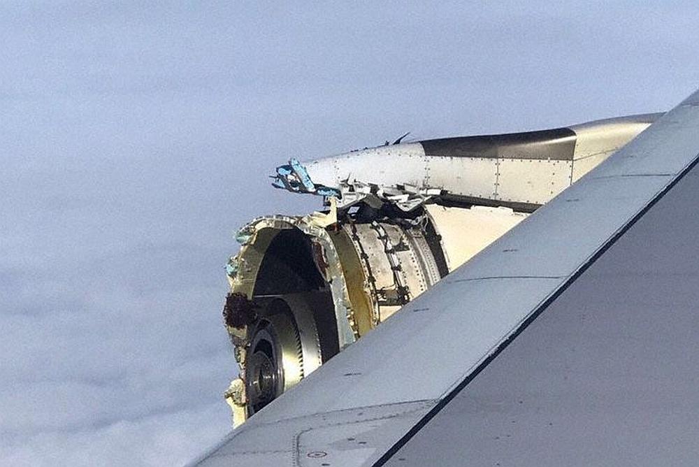 Auf dem Flug von Paris nach Los Angeles | Triebwerk zerfetzt! A380 muss in Kanada notlanden