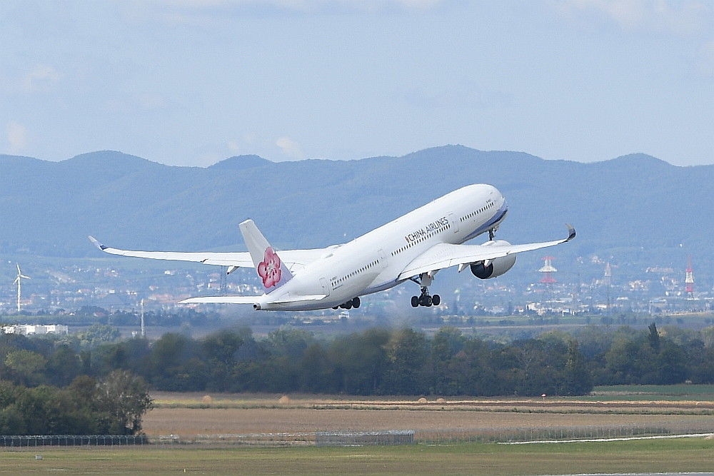 China Airlines Stockt Wien Taipeh Auf Austrian Wings