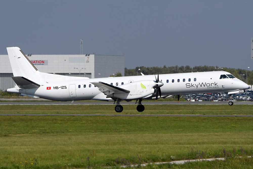 Skywork stellt Flüge von Basel nach London ein