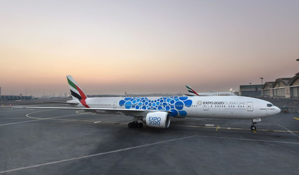 Emirates Pr 228 Sentiert Flugzeuge Mit Expo 2020