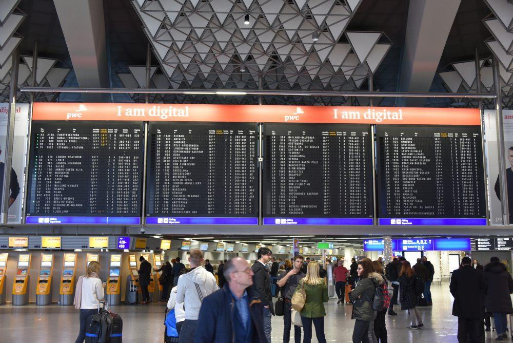 Navigation Frankfurt Flughafen