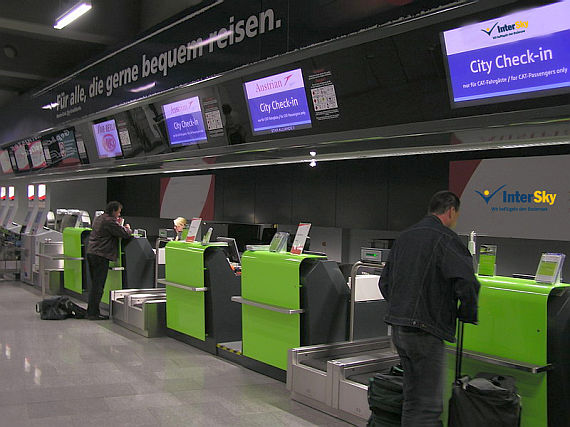 Intersky Check In Ab August Auch Am Cat Terminal Wien Mitte