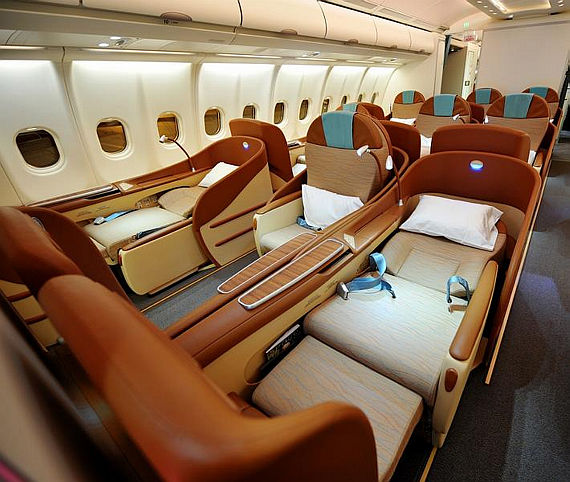Oman Air Business-Class - Foto: Oman Air