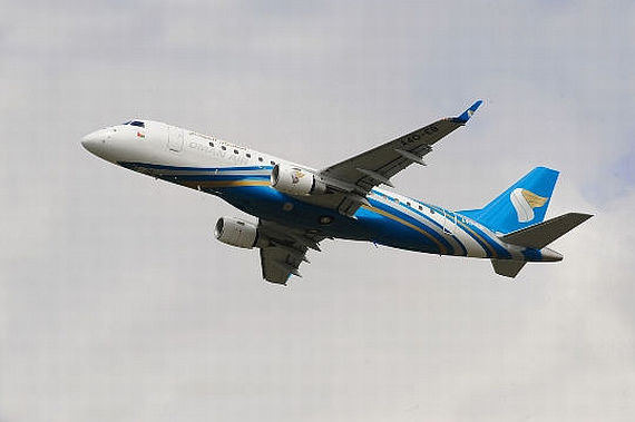 Embraer 175 Jet - Foto: Oman Air