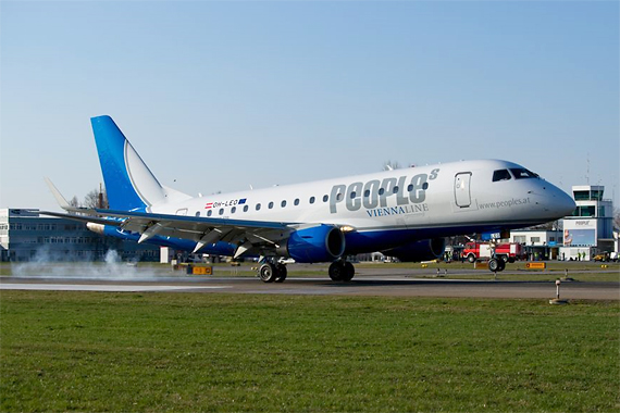 People's Viennaline Embraer 170 Jet