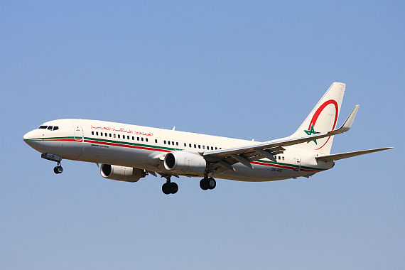 "Boeing 737-800 der Royal Air Maroc - Foto: Wikimedia Commons (User ""Wo st 01"")"