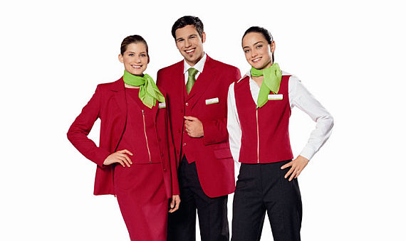 Tyrolen Uniformen - Foto: Austrian Airlines