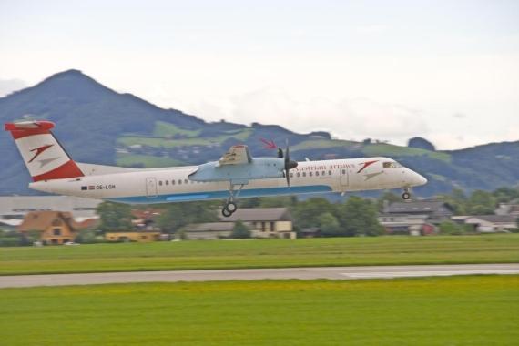Aua Flug Wien Innsbruck Außerplanmäßig In Salzburg Gelandet