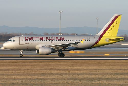 Germanwings A319 beim Start in Wien - Foto: Max Hrusa / Austrian Wings