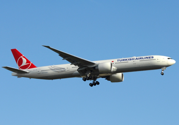 Boeing 777-300 von Turkish - Foto: P. Radosta / Austrian Wings