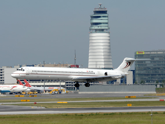 MD-83 der MAPJet in Wien (Symbolbild) - Foto: Austrian Wings Media Crew