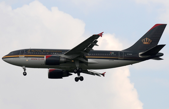 Royal Jordanian Airbus A310-300 - Foto: Chris Jilli