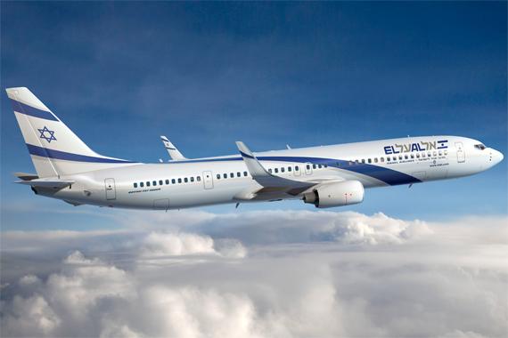 Boeing 737-900ER in den Farben von El Al - Grafik: Boeing