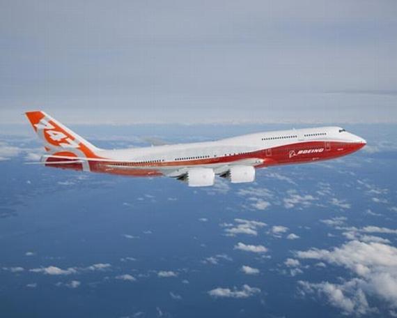 Feiern in Paris ihr Debüt auf internationalem Parkett: Boeing 747-8I (Bild) und Boeing 747-8F - Foto: Boeing