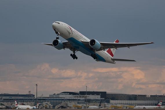 Strahlenmessungen nach Japan-Flügen auch bei Austrian - Foto: Andreas Riedel