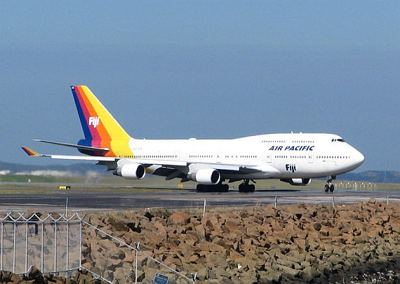 Air Pacific 747 - Foto: Wikimedia Commons