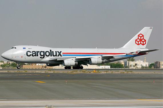 Boeing 747-400 von Cargolux - Foto: Konstantin von Wedelstädt