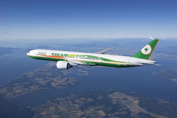 EVA AIR Boeing 777 - Foto: Korn-PR