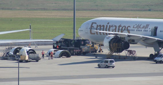 Emirates Triebwerksreparatur