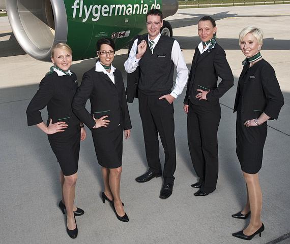Neue Uniformen für Germania