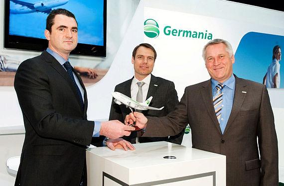 Germania Vertragsunterzeichnung