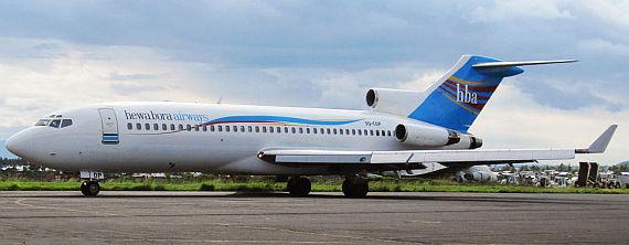 Boeing 727 (9Q-COP) von Hewa Bora - Foto: Guido Potters