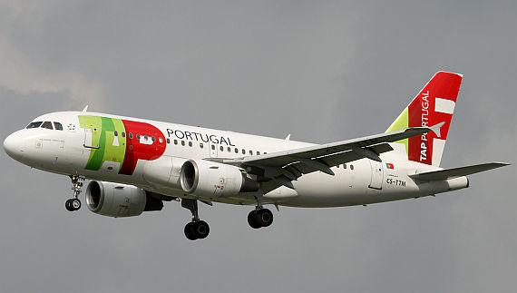 TAP Airbus A319 CS-TTM - Foto: Konstantin von Wedelstädt