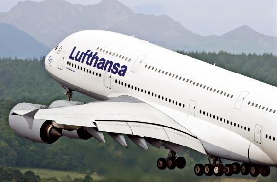 A380 der Lufthansa beim Start - Foto: Lufthansa