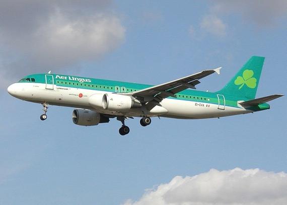 Airbus A320 der Aer Lingus – Foto: Denniss / Wikipedia