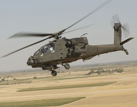 AH-64 Apache - Foto: Wiki Commons