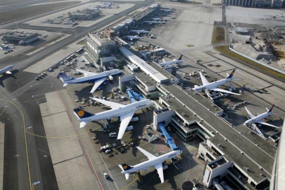 Flughafen Frankfurt - Foto: Fraport